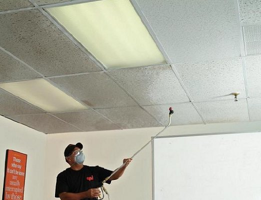 Industrial Ceiling Cleaning : Commercial ceiling cleaning penn jersey janitorial